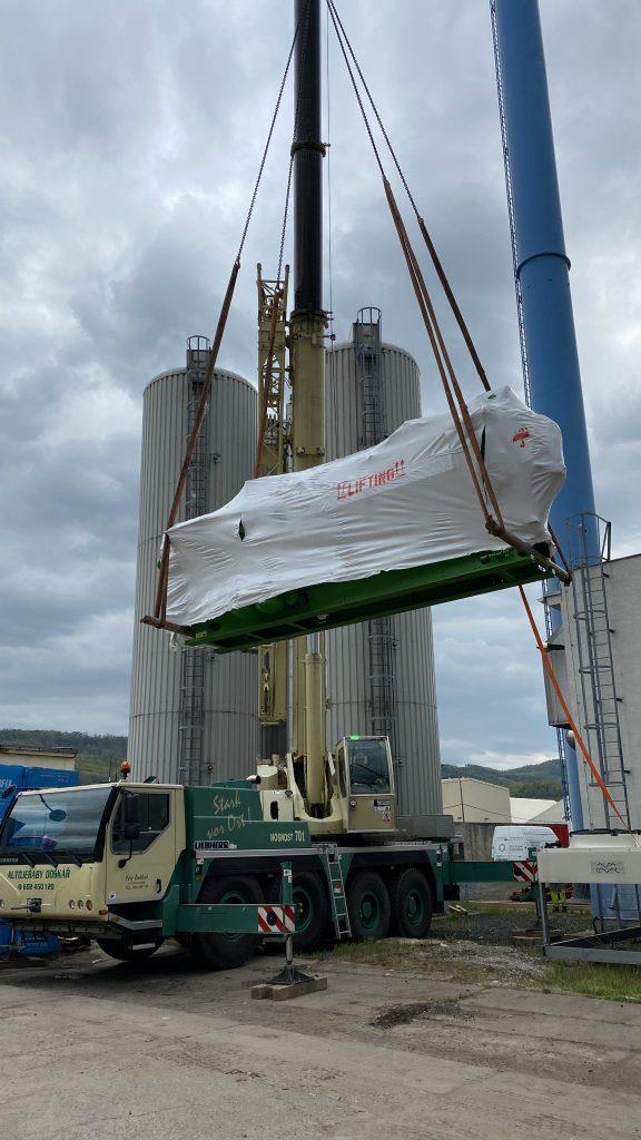 2020, Dodávka a montáž kogenerační jednotky včetně periferií, Teplárna Želenice, TERMO Děčín, a.s., Výkon 999 kWe